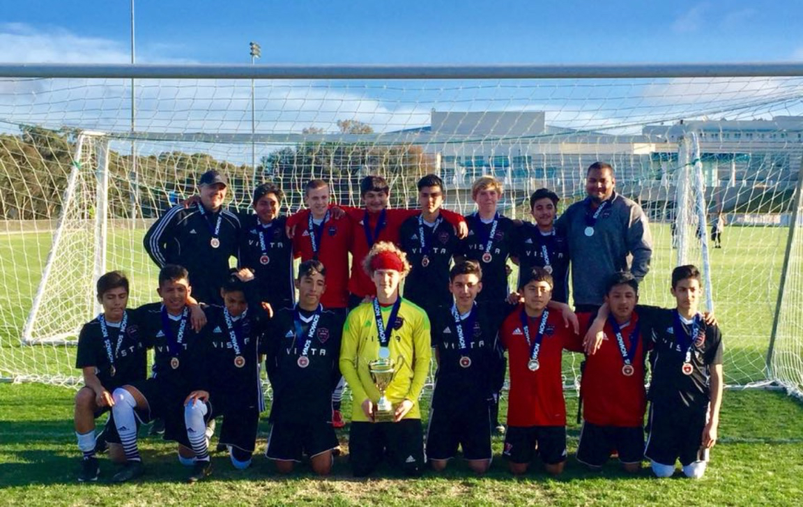 Boys 2003 Black are Nomads Champions