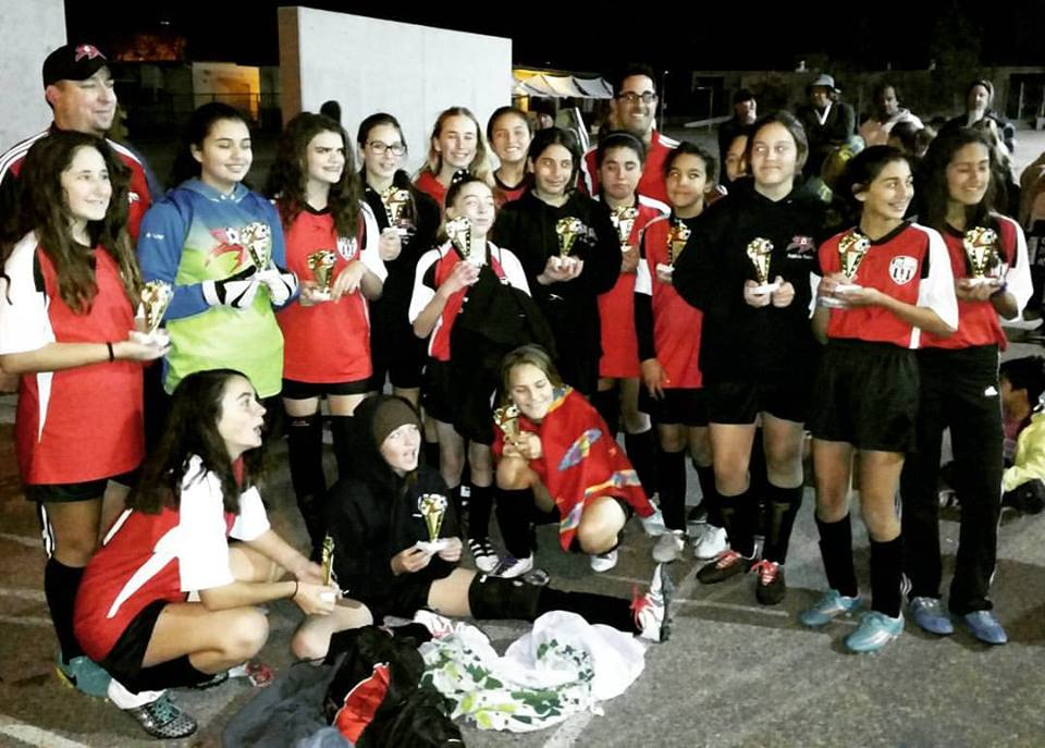 Girls U14 Premier All Stars Win Scripps Ranch All Star Tournament
