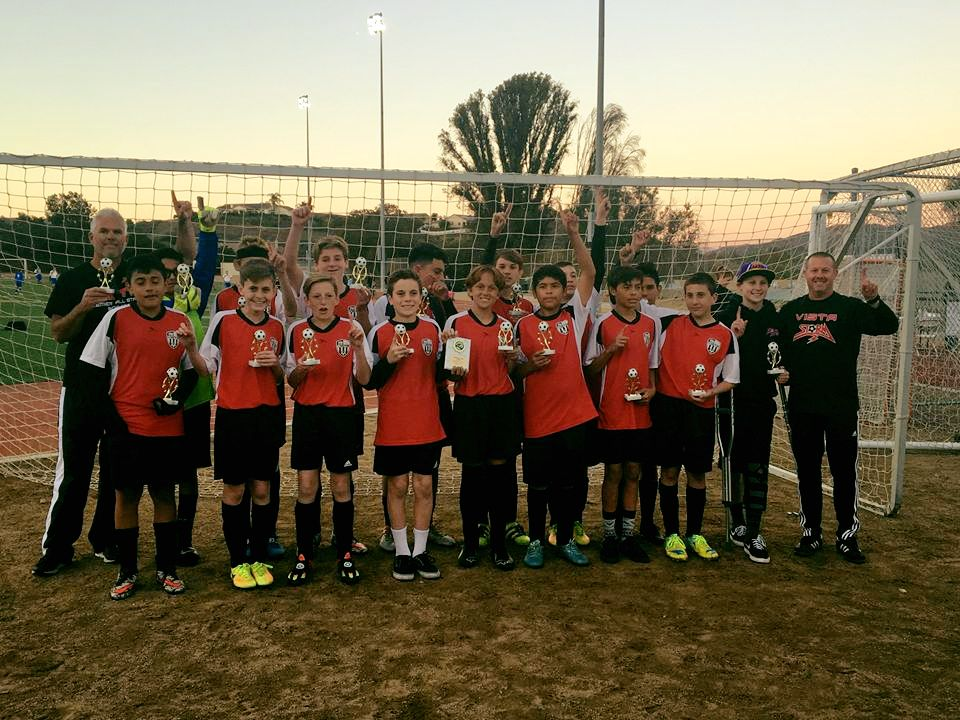 Boys U14 Premier All Stars Win Scripps Ranch All Star Tournament