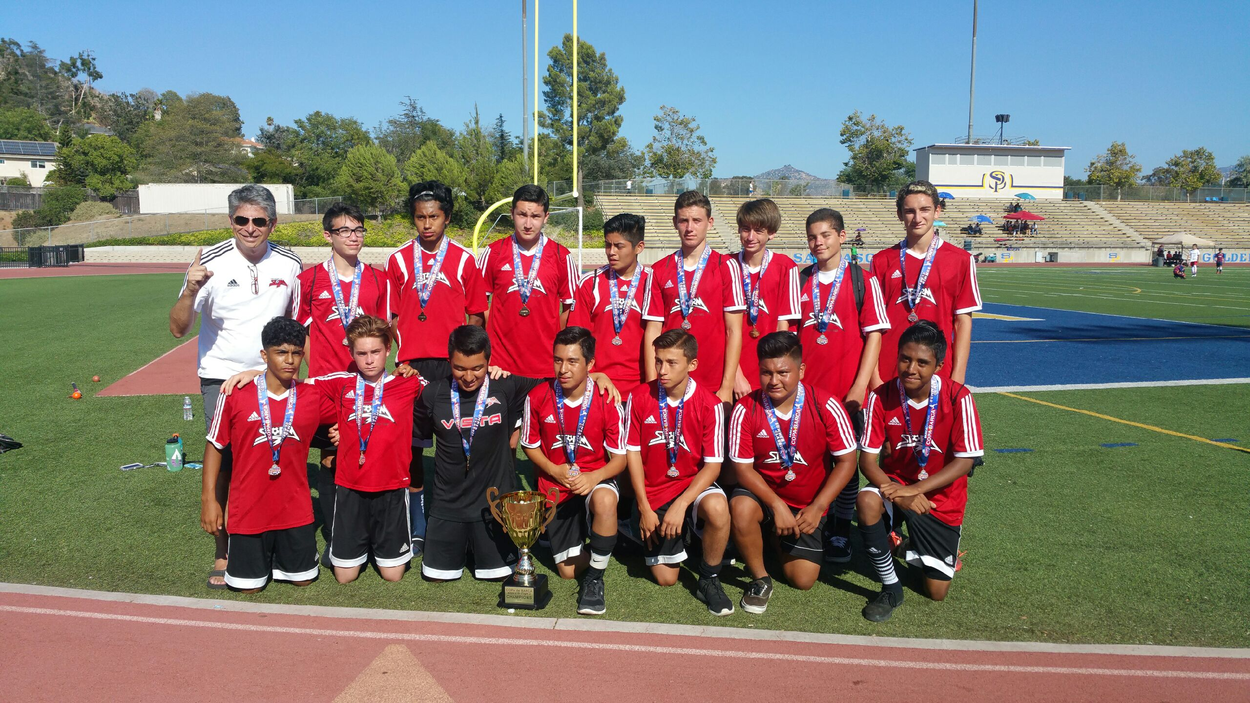 B2001 Black Wins Copa de Barca