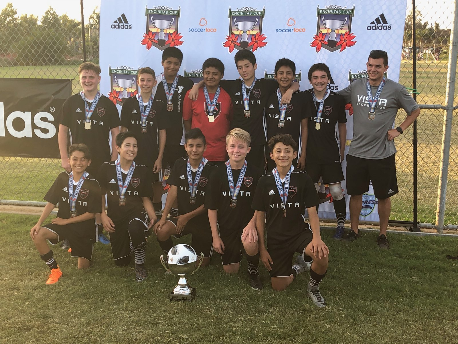 B2004 Black are Encinitas Cup Champions