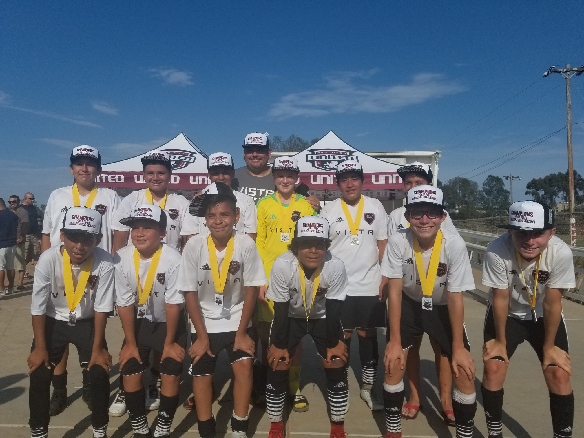 2005 Boys Are SD United Summer Challenge Champions