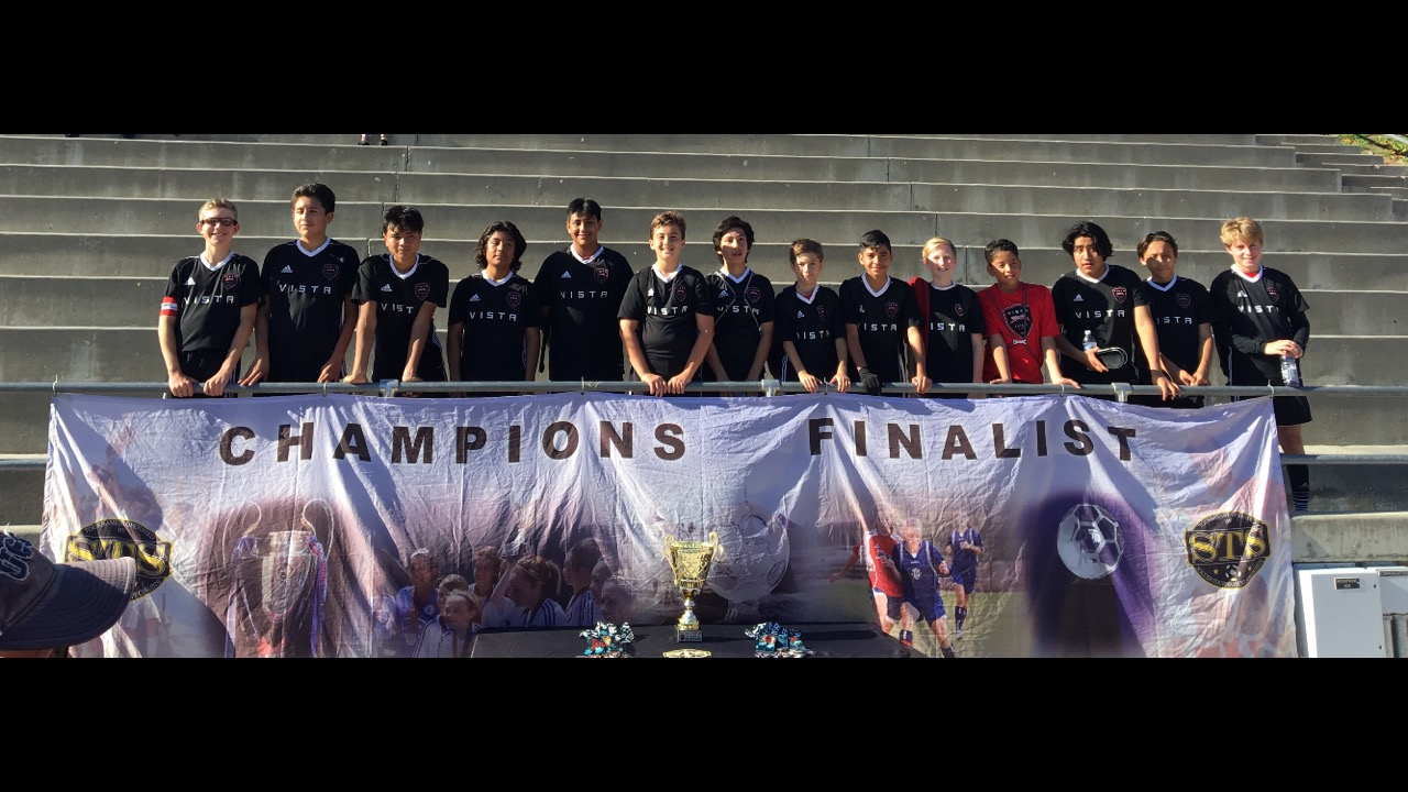 2005 Boys are Storm Winter Cup Champions