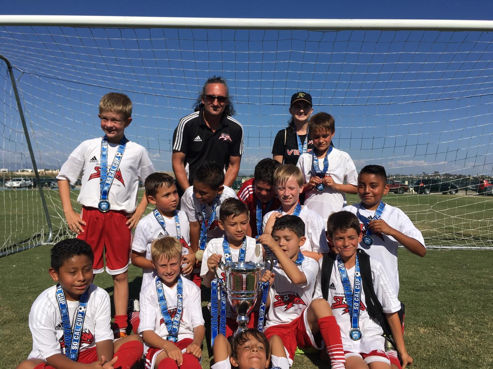 2006 Boys Win the SoCal Cup