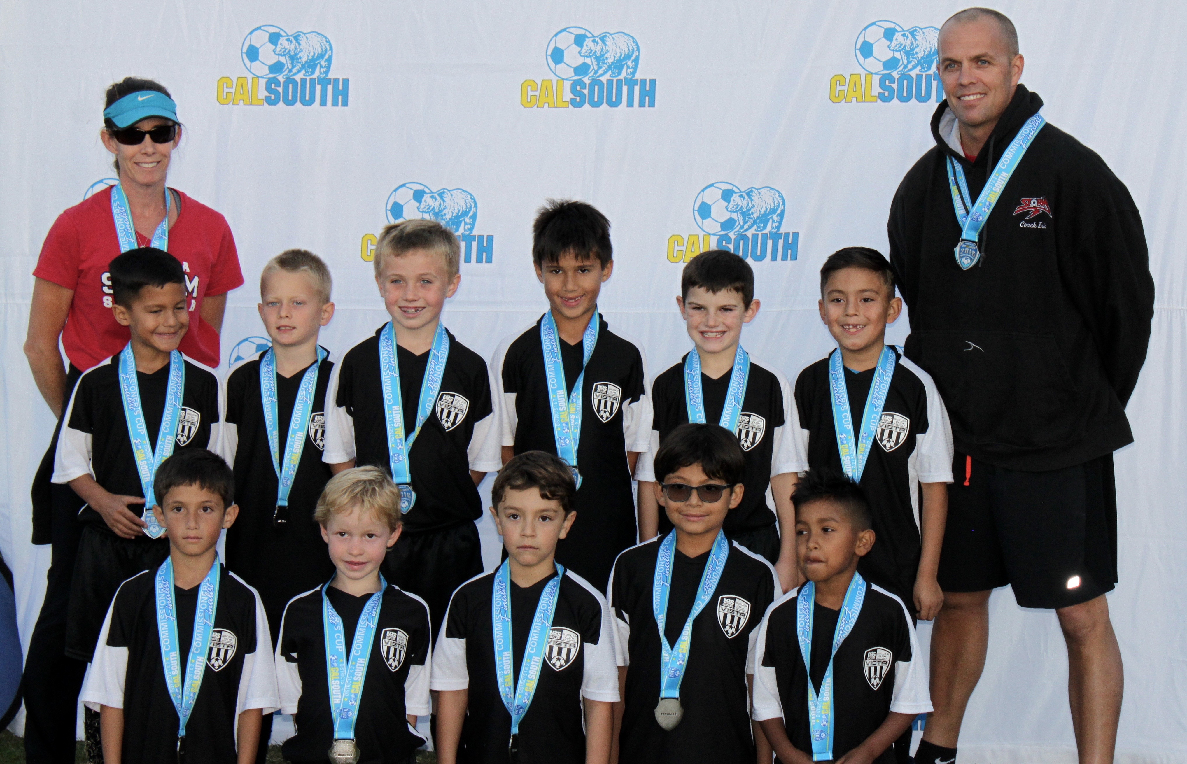 Boys U8 Premier All-Stars Reach Commissioner's Cup Finals