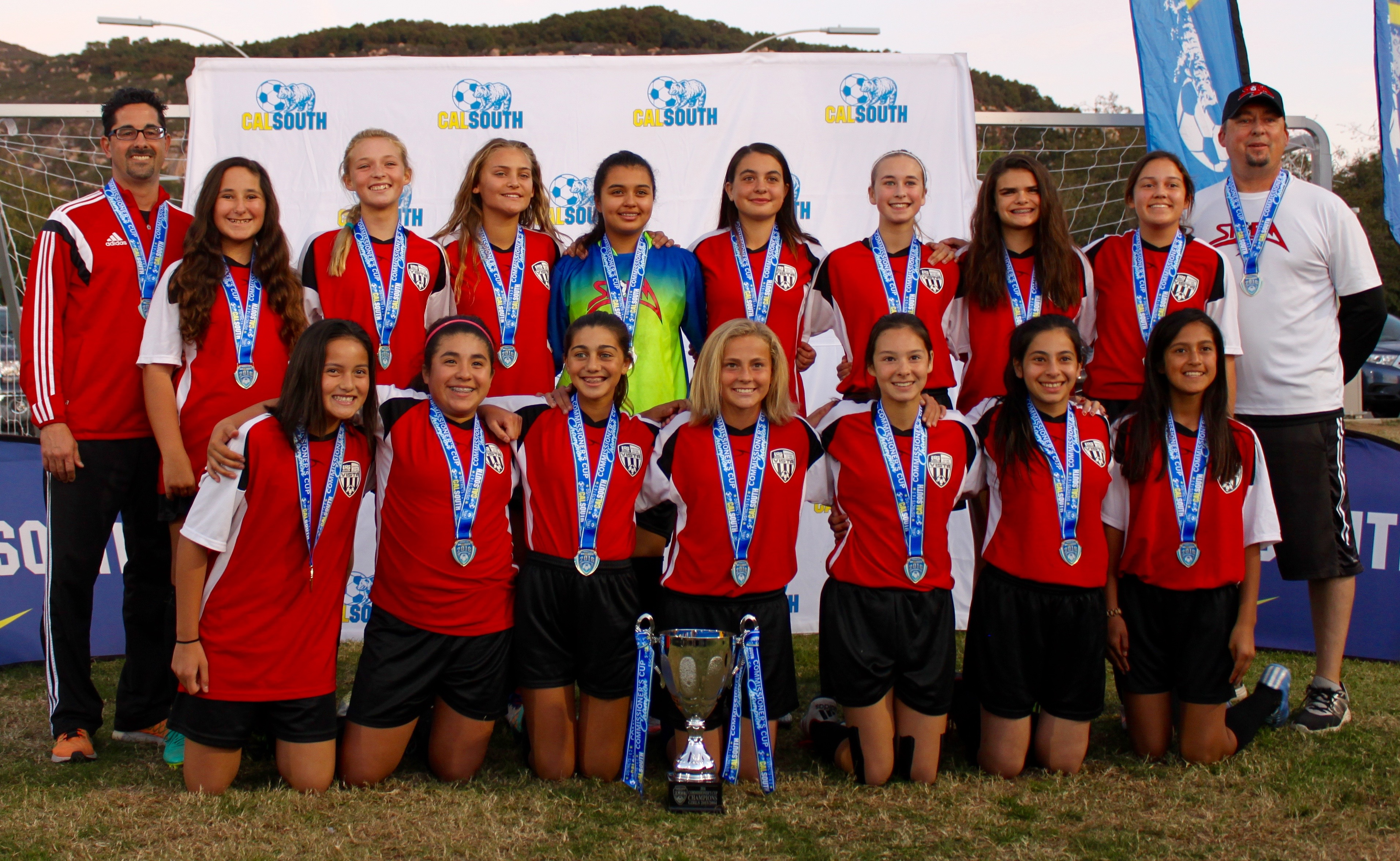 Girls U14 Premier All-Stars Win Commissioner's Cup