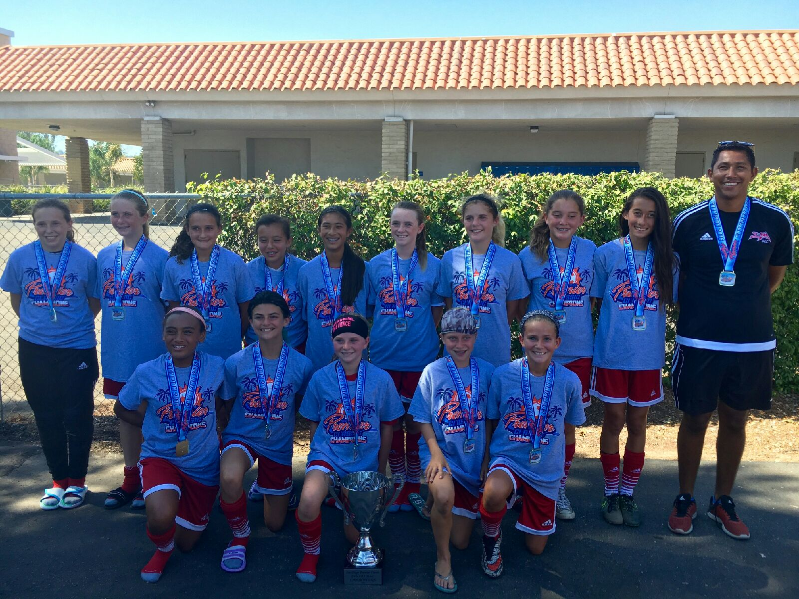 2004 Girls Continue Success at Premier Cup