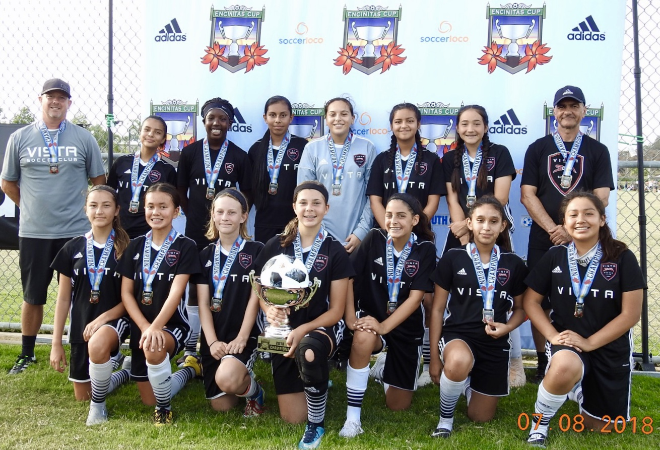 2005 Girls Win Encinitas Cup