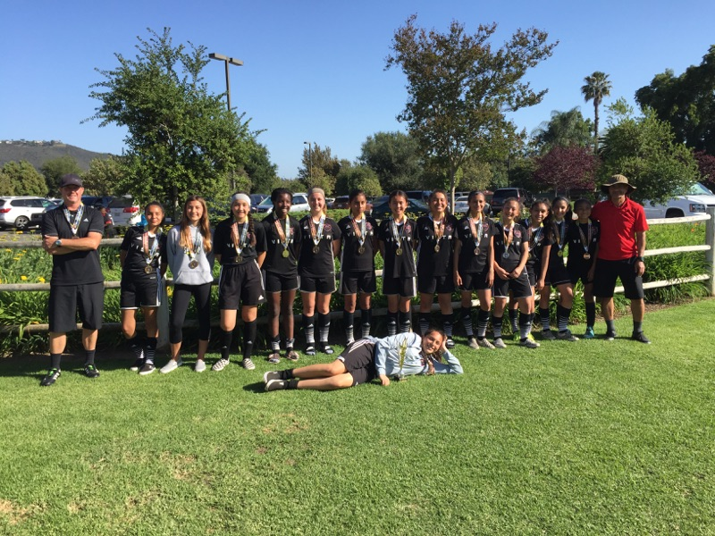 2005 Girls Win San Marcos United Cup