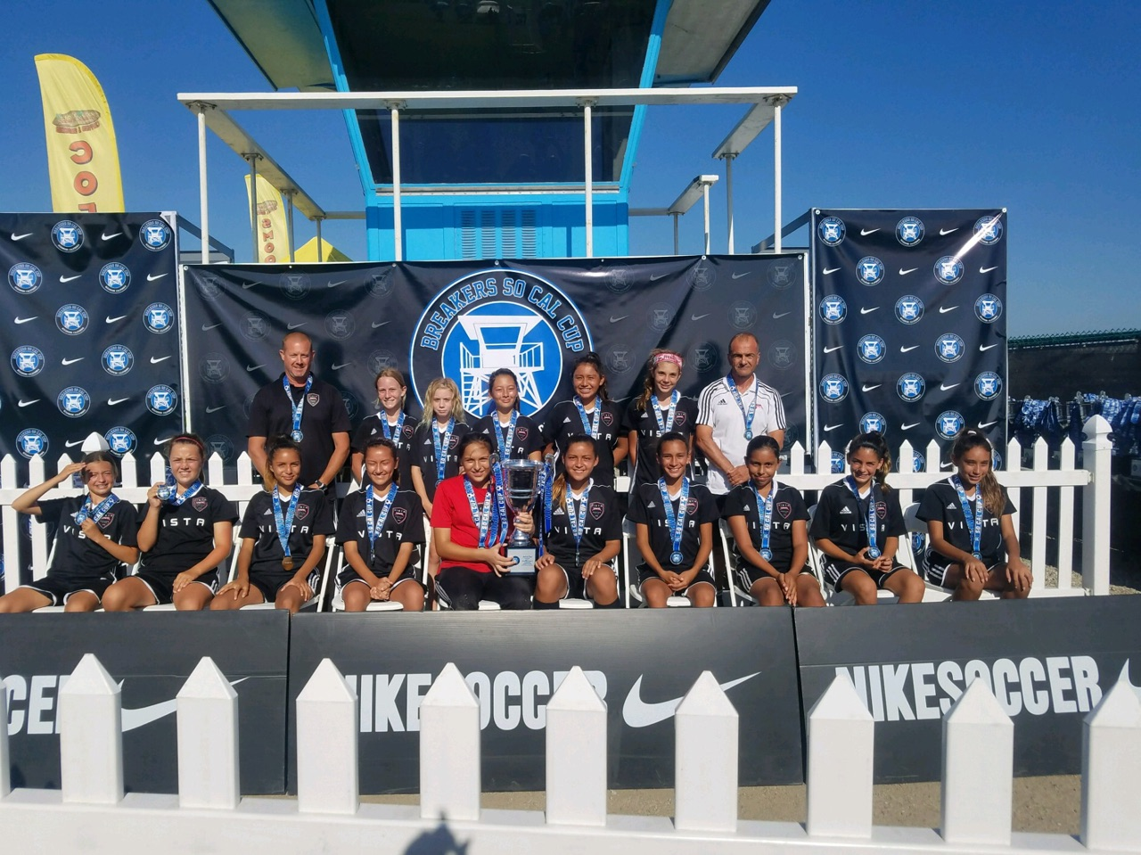 2005 Girls Win SoCal Cup