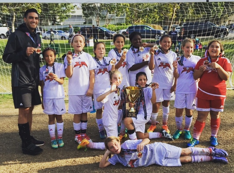 2006 Girls Win Orange County Tournament of Champions