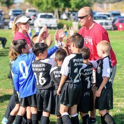 Boys U8 Premier All Stars Win New Year's Kick Off Tournament