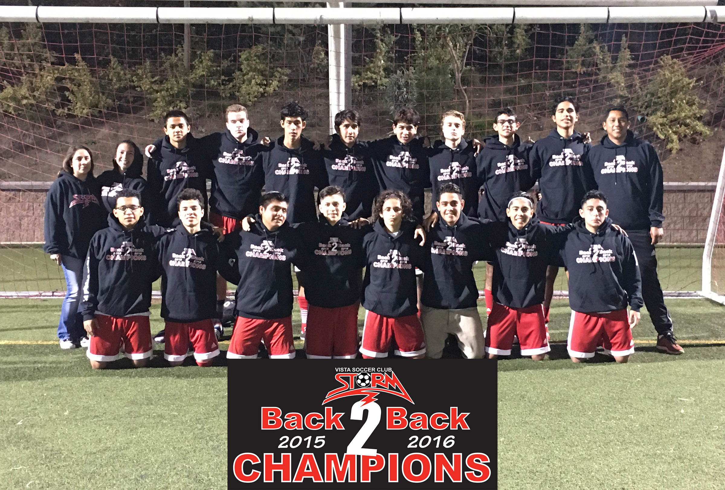 2000 Boys Back to Back SDDA Flight 1 Champions